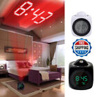 Digital Alarm Clock LED Wall/Ceiling Projection LCD Voice Talking LED Projector