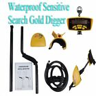 Gold Digger Metal Detector Deep Sensitive Light Hunter  LCD Display Telescopic
