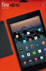"""NEW Amazon FIRE Tablet 10"""" BLACK HD 32GB WI-FI MicroSD Quad 7th Generation 2017"""