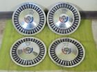 "1963 Ford Hub Caps 13"" Set of 4 Wheel Covers 63 Hubcaps"