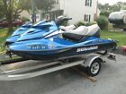 Two 2008 Seadoo GTX Limited 215 Jet Skis and Trailer