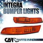 1994-1997 Acura Integra DC2 Amber Lens Bumper Lights Signal Lamp