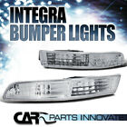 1994-1997 Acura Integra DC2 Clear Lens Bumper Lights Signal Lamp