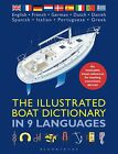 The Illustrated Boat Dictionary in 9 Languages Book Manual Visual Reference NEW!