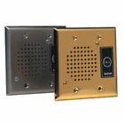VALCOM Talkback Doorplate Speaker - Stnless Stl