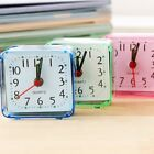 Nature Silent Desktop Quartz Square Travel Home Table Beep Trip Alarm Clock