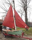 Sailboat 13 foot Stick-up Sharpie skiff
