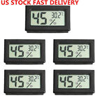 US 5PCS Mini Digital LCD Temperature Humidity MeterThermometer Hygrometer indoor