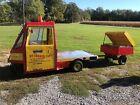 1982 Cushman Truckster With Hot Dog Cart!  1982 CUSHMAN TRUCKSTER 3 WHEELER WITH HOT DOG CART!