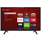TLC Roku TV HD With Wifi Streaming Certified Refurbished Smart LED Television