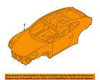 PORSCHE OEM 12-16 911 BODY SHELL-Assembly 99150000102GRV