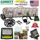 NEW Garrett GTI 2500 Metal Detector PRO Package Includes 5 BONUS Accessories