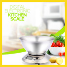 Stainless Steel Kitchen Scale 5kg/1g Electronic Scale Kitchen Food Balance