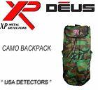 NEW XP DEUS METAL DETECTOR CAMO BACKPACK
