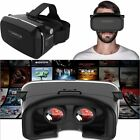 3.0 Virtual Reality Glasses 3D VR Box Eyewear Headset For iPhone 7 6 3.5-6' Phon