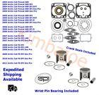 Arctic Cat 600 Firecat F6 EFI 73.80 mm STD Bore Pistons Bearings Gaskets Seals