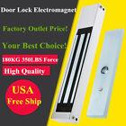 KKmoon DC 12V Electric Magnetic Door Lock 180KG/350LB Holding Force Silver H1K2