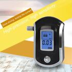 Digital Breath Alcohol Tester LCD Breathalyzer Analyzer With 5 Mouthpiece BC