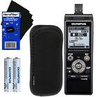 Olympus WS-853 Digital Voice Recorder,Black w/8GB & Direct USB + Case +Batteries