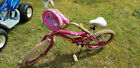"""USED Mongoose butterfly Girls 19"""" Bike dirty has been outside"""