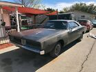 1969 Dodge Charger  solid !!  SE white hat special edition factory tic toc tach