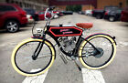 Harley Davidson Antique vintage style collectible prewar motorized bike