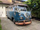 1965 Volkswagen Bus/Vanagon  NO RESERVE! 1965 German Made 13 Window Deluxe OG Paint Volkswagen Bus New Safari