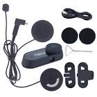 TCOM-SC 800m Bluetooth Motorcycle Helmet Intercom Headset FM Radio+Soft Earpiece