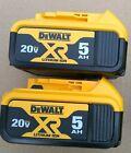 DeWalt DCB205 2 Pack 20V volt  5AH MAX Lithium-Ion Battery Pack with Fuel Gauge