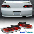 For 1997-2001 Honda Prelude JDM Tail Lights Brake Lamps Red/Clear