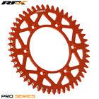 For KTM SX 125 2T 1994 RFX Pro Series Elite Rear Sprocket Orange 48T