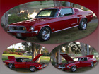 1968 Ford Mustang  1968 Ford Mustang Fastback REAL GT J CODE, PS, PB, Power Disc Brakes, AC