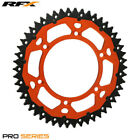 For KTM EXC 250 2T Sixdays 2009 RFX Pro Series Armalite Rear Sprocket Orange 51T