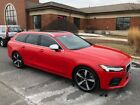 2018 Volvo V90 R-Design 2018 Volvo V90 T6 R-Design Passion Red B&W Loaded Excellent Condition & EXTRAS!