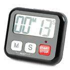 Big ABS Screen Digital Clock Led Digital Stand Alarm Table Watch Timer