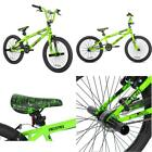 "Kent 20"" Thruster Boys', Chaos Bmx Bike, Green, For Ages 8-12"