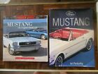 Lot of 2  Ford Mustang Guide Books 1964 1970  Leffingwell & Pemberthy  free ship