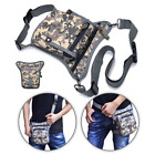 Men Camo Bag Drop Leg Bag Metal Detecting Treasure Finds Pouch Waist Fanny Pack