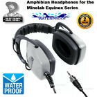 Detector PRO Grey Ghost AMPHIBIAN ll UNDERWATER Headphones For Minelab EQUINOX