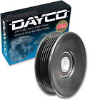 Dayco Grooved Drive Belt Idler Pulley for 2007 GMC Sierra 3500 Classic 6.6L lj