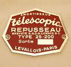 REPUSSEAU TELESCOPIC SHOCK TAG TYPE 25-200 BUGATTI +