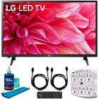 """LG 32LM500BPUA 32"""" LED HD 720p TV (2019) w/ Accessories Bundle"""