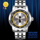 Lincoln Cap Wheel Alloy Sport Metal Watch