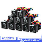 10 Pack 12V 30A 5-Pin SPDT Automotive Relay with Wires & Harness Socket for Car