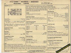 1973 FORD COMET/MAVERICK/MONTEGO/MUSTANG/TORINO 302 ci SUN ELECTRONIC SPEC SHEET