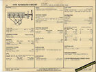1973 PLYMOUTH CRICKET 4 Cylinder OHV 1500cc Engine Car SUN ELECTRONIC SPEC SHEET