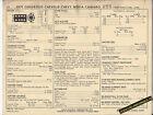 1971 CHEVROLET NOVA/CHEVELLE/CAMARO 307 ci /200 hp Car SUN ELECTRONIC SPEC SHEET