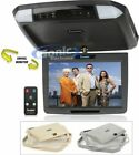 """Farenheit T-1100CM 11.2"""" TFT-LCD Overhead Flip-Down Monitor with 3 Snap-on Skins"""