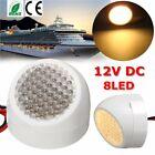12V Bright LED Interior Ceiling Dome Light Lamp Caravan Trailer Boat Warn White