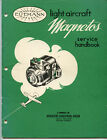 Original Eisemann LA-4 LA-6 AM-4 AM-6 Light Aircraft Magnetos Service Handbook
